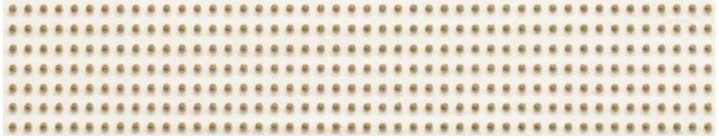 Kwadro Doppia BEIGE listwa 4,8×25