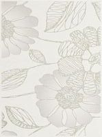 Kwadro Liberetto Bianco inserto Kwiat B 25×33