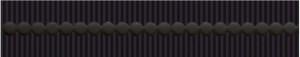 Kwadro Tenor NERO listwa 4,8×25