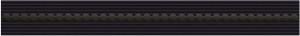 Kwadro Tenor NERO listwa 4,8×40